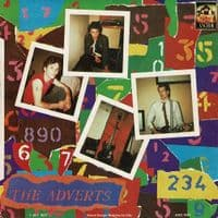 THE ADVERTS Safety In Numbers Vinyl Record 7 Inch Anchor 1977